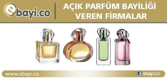 Açık Parfüm Bayiliği Veren Firmalar E Bayi