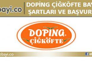 doping çigköfte bayilik