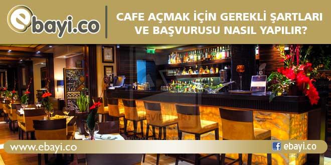 Cafe açmak