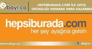 hepsiburada.com satış ortaklığı